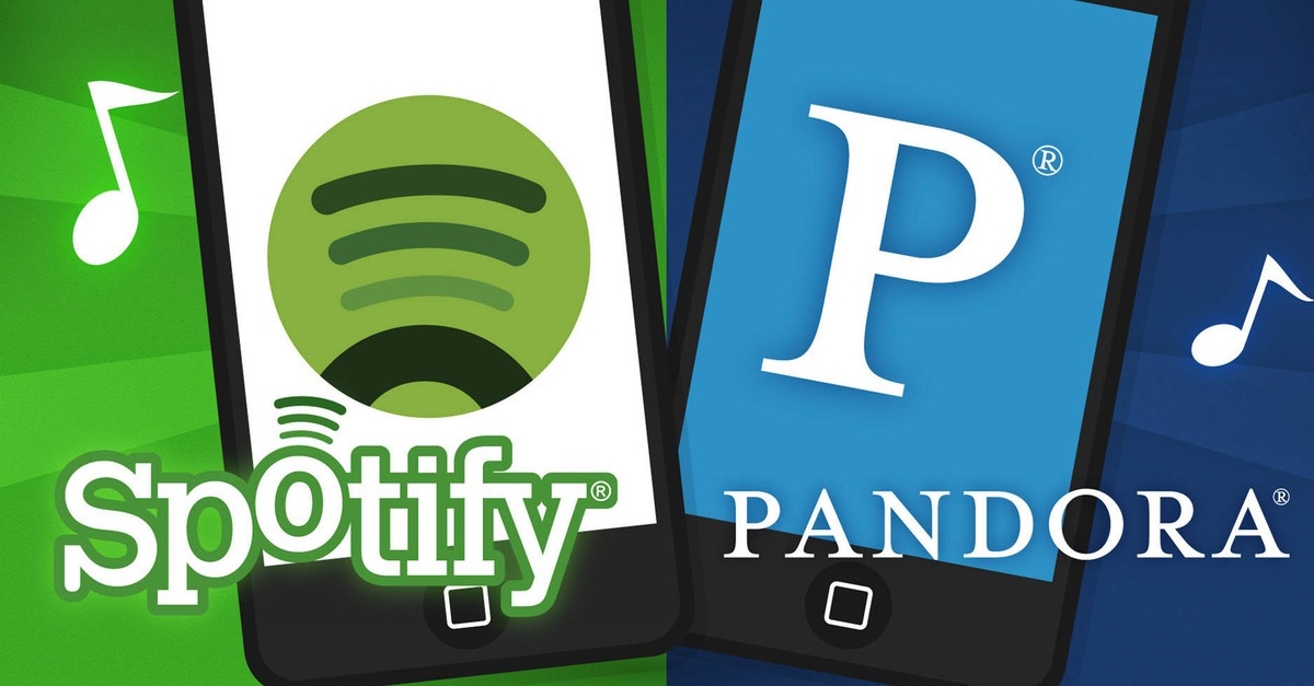 Spotify vs. Pandora phones