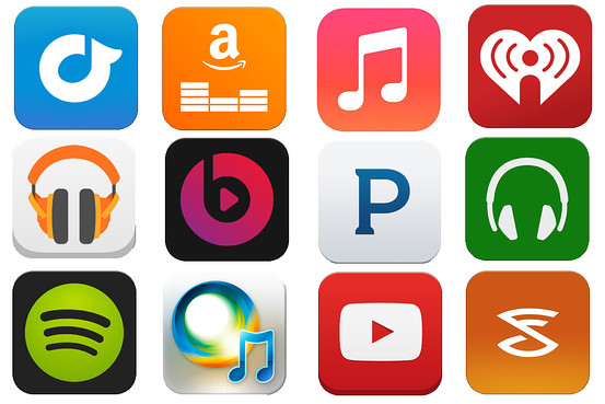 picture of music streaming services