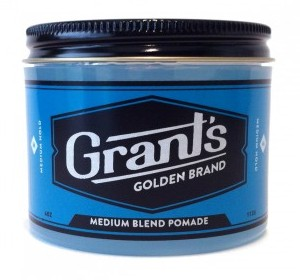 Grant's Old Pomade Design